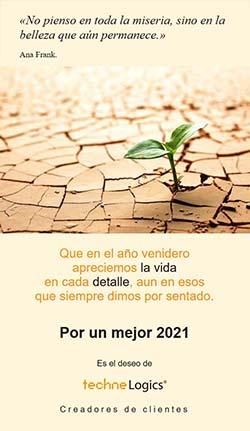 Un mejor 2021 les desea techneLogics